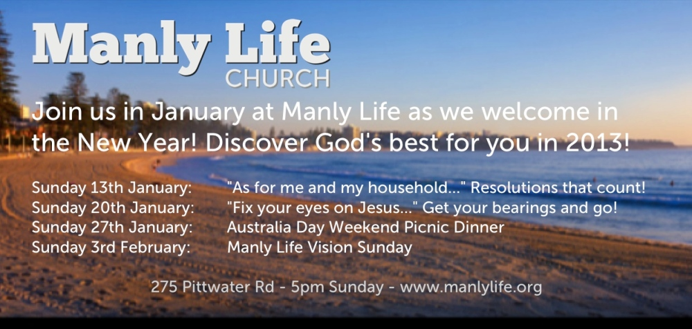 Welcome to Manly Life Church (2/5)