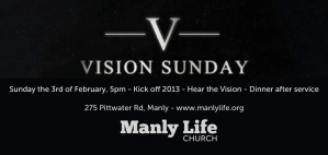 Vision Sunday 2013
