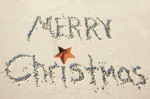 Christmas sand
